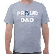 Proud Ahg Dad T-Shirt Heather Grey / As 4110 Wearables