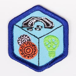 Engineering Badge Blue-Th 4140 Badges