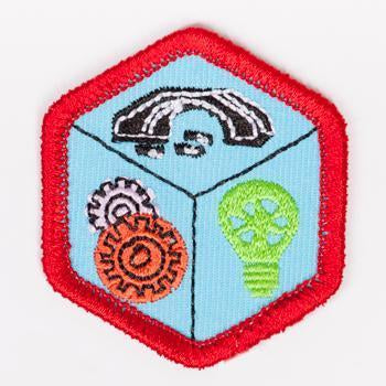 Engineering Badge Red-Ex 4140 Badges