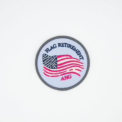 AHG - Flag Retirement Patch