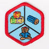 Kid Care Badge Red-Ex 4140 Badges