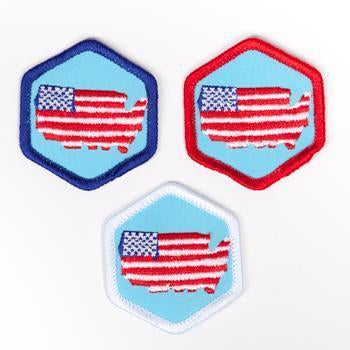 Living In The Usa Badge 4140 Badges