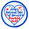 National Day Of Service Patch 4130 Uniform Accessories