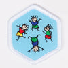 Physical Fitness Badge White-Pi/pa 4140 Badges