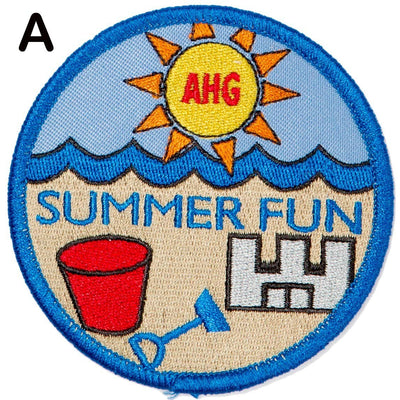 Summer Fun Patches A 4130 Uniform Accessories