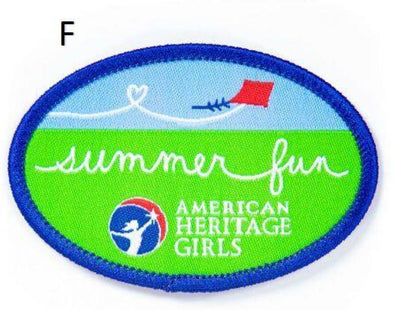 Summer Fun Patches F 4130 Uniform Accessories