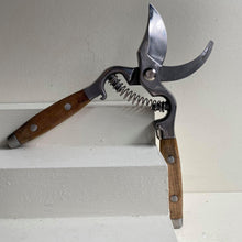 Load image into Gallery viewer, Wooden Handled Secateurs