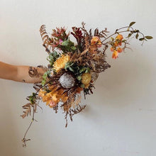 Load image into Gallery viewer, Dried Bridal Bouquet