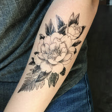 Floral Temporary Tattoo Pack by Karina Figueroa