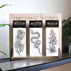 Temporary Tattoo Display Stand - Small