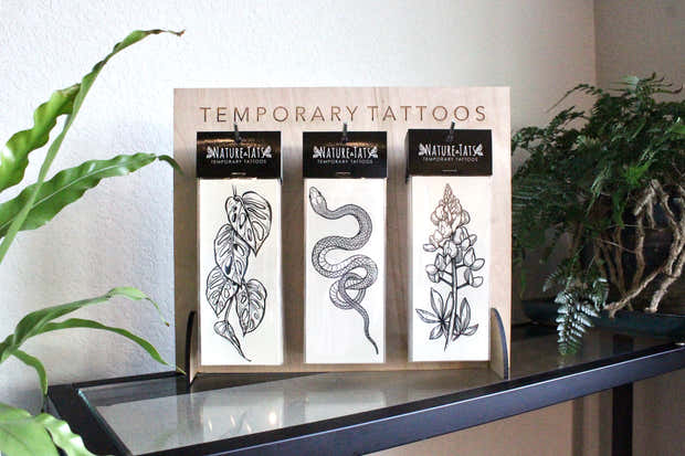 Temporary Tattoo Display Stand - Small 1