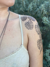 Monstera Vine Temporary Tattoo