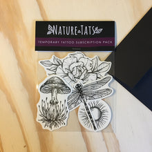 Temporary Tattoo Monthly Subscription Pack