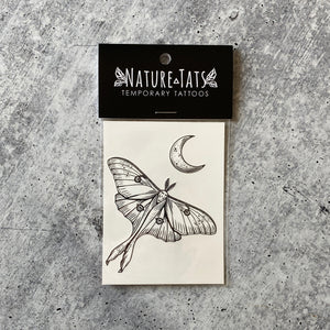 Luna Moth Temporary Tattoo