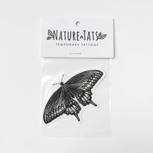 Black Swallowtail Butterfly Temporary Tattoo