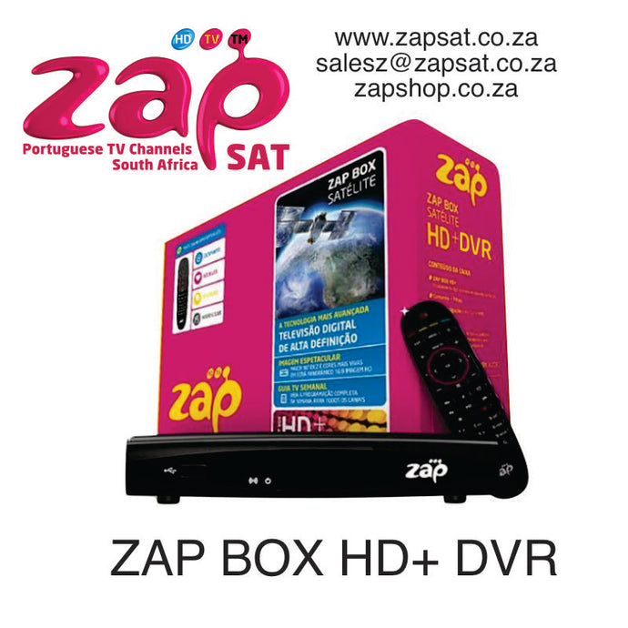 ZAP BOX HD + DVR AO