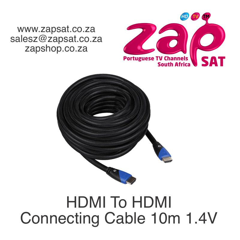HDMI To HDMI Connecting Cable 10m 1.4V