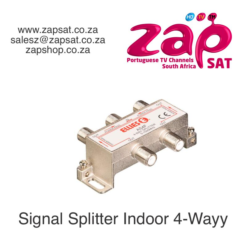 Signal Splitter Indoor 4-Way