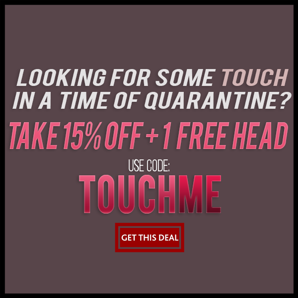 "Quarantine Sale ""TouchMe""! Sex Dolls from True Touch Dolls"