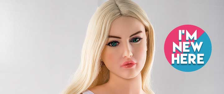 Realistic Life Size Blonde Sex Doll for Men.  Life Like Beautiful Sex Dolls For Sale.