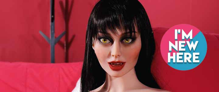 Naughty Vampire Sexy Sex Doll For Sale For Men.