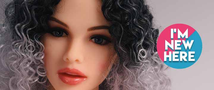 Petite Realistic Curly Sex Doll For Sale For Men.