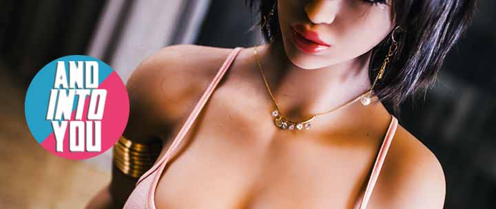 Brunette Short Hair Big Hip Realistic Sexy Sex Doll For Sale For Men.