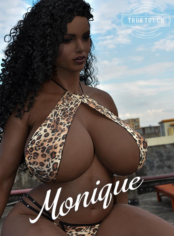 "😘 Monique - 5'4"" Sex-Crazed BBW Receptionist Sex Doll from Atlanta, GA"