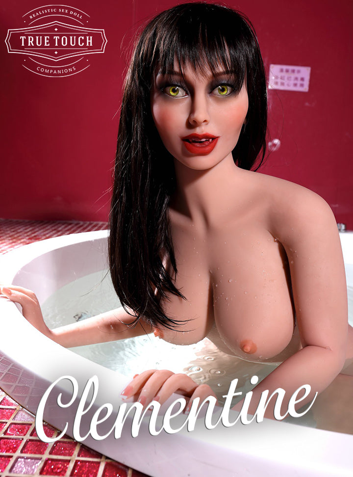 "😘 Clementine - 4'10"" Sexy Vampire Sex Doll From Kalispell, Montana"