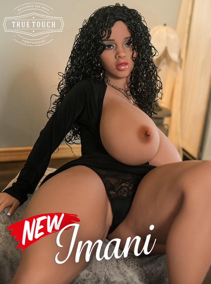 "😘 Imani - 4'9"" Big Breasts Hotel Singer BBW Sex Doll From St. Louis, Missouri"