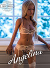 "😘 Angelina - 4'7"" Petite Blonde Fitness Trainer Sex Doll from Boulder, CO"