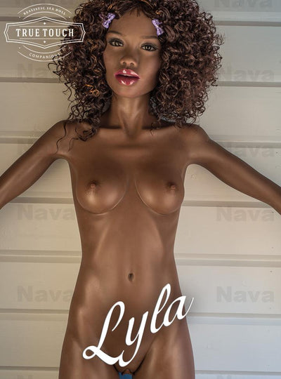 "😘 Lyla - 5'6"" Petite Ebony Goddess Sex Doll From Albany, New York"