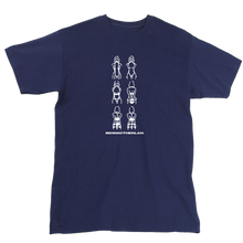 Load image into Gallery viewer, BDSM Tee | Navy/White