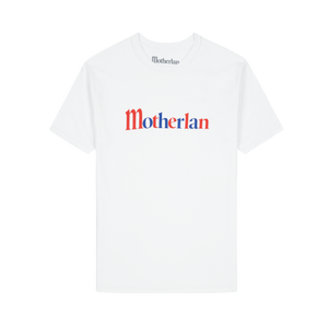 UK Flag Logo Tee | White