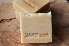 Load image into Gallery viewer, OATMEAL, MILK & HONEY GOAT'S MILK SOAP (UNSCENTED)