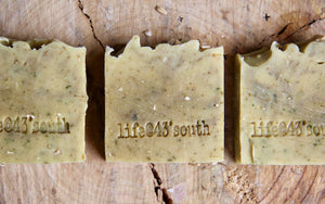 NETTLE & OATMEAL GOAT'S MILK SOAP