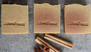 GINGERBREAD GOAT'S MILK SOAP - LIMITED EDITION