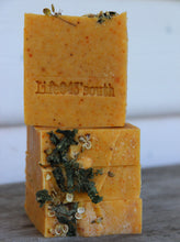 Load image into Gallery viewer, CARROT & HONEY GOAT'S MILK SOAP
