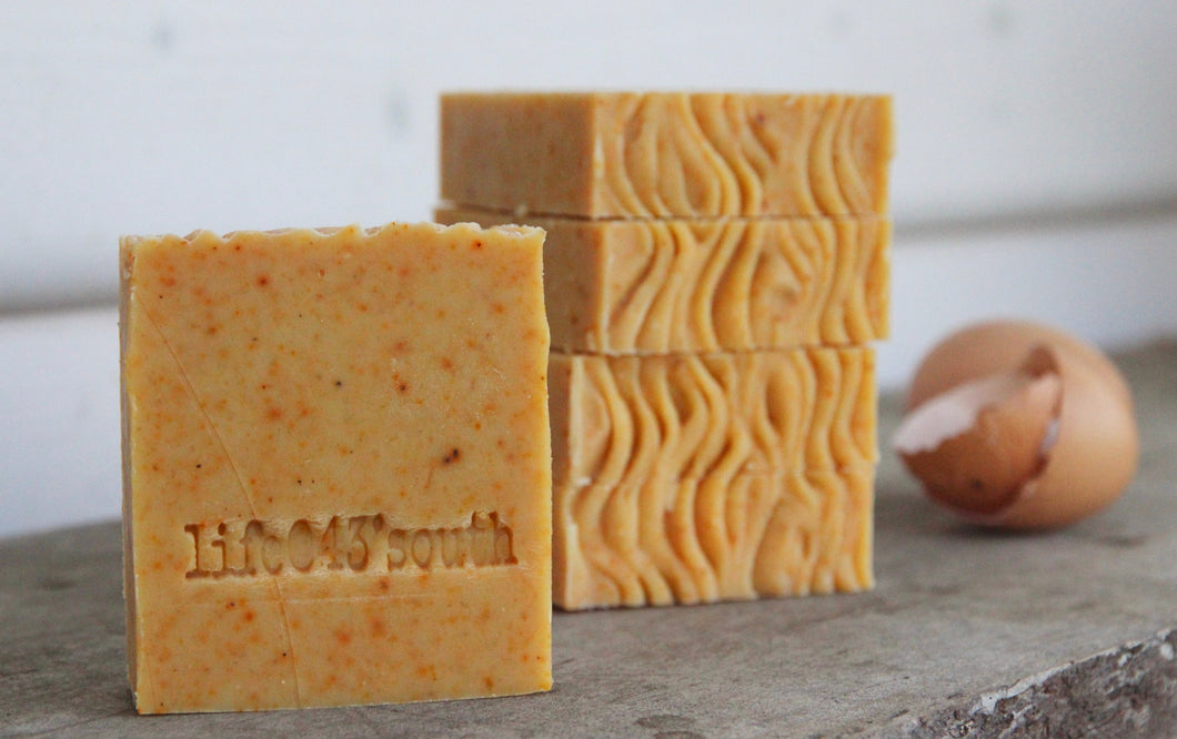 EGG SHAMPOO & BODY GOAT'S MILK SOAP