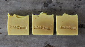 HONEY SAFFRON GOAT'S MILK SOAP (UNSCENTED)