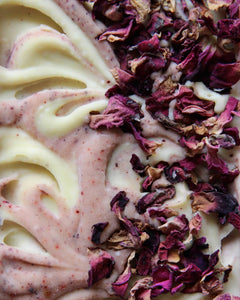 GARDEN ROSE & GOAT'S MILK SOAP*** REIKI CHARGED