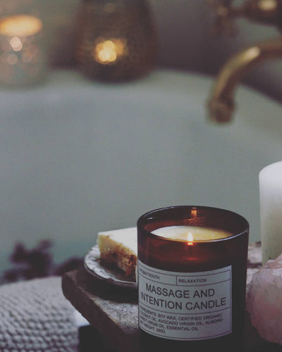 MASSAGE & INTENTION CANDLE