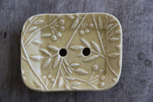 Load image into Gallery viewer, SOAP DISH- OLIVE