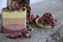 Load image into Gallery viewer, GOAT'S MILK PINK CLAY & KEFIR SOAP*** REIKI CHARGED*** BACK IN STOCK 2021