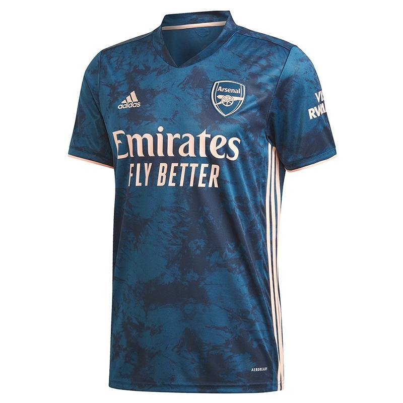 Camiseta Arsenal Alternativa 2020/21 - Thunder Internacional