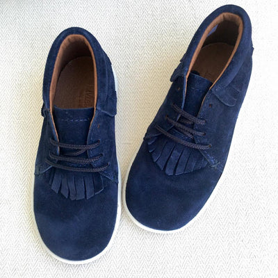 Fringe Sneaker Navy - Eat Play Love