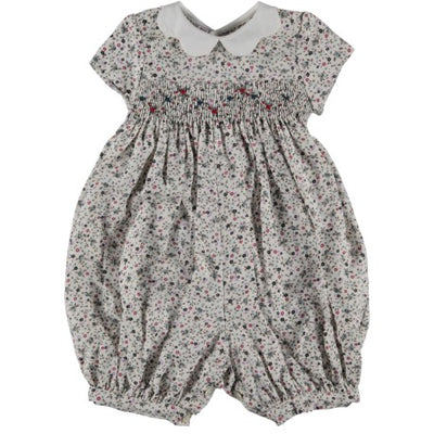 Smocked Romper Verga - Eat Play Love