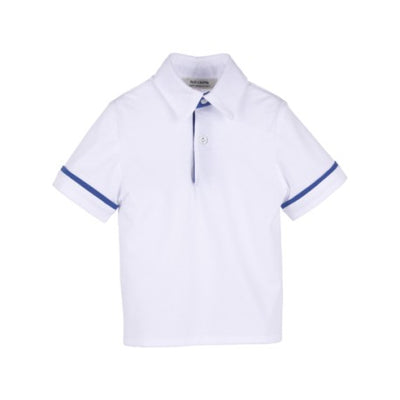 Paio Crippa Boys Polo Shirt White - Eat Play Love