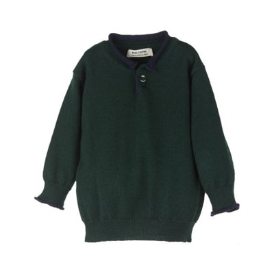 Merino Jumper Green - Eat Play Love