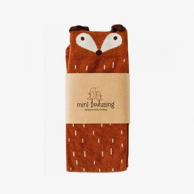 Mini Dressing Knee Socks Fox Brown - Eat Play Love